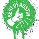 Austin Chronicle Best Of Austin 2011 Poll Logo